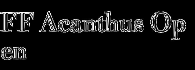 FF Acanthus Open