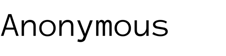 Anonymous (Mark Simonson)