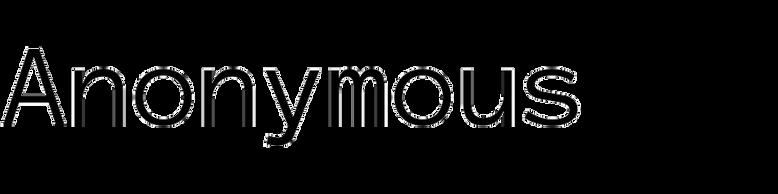 Anonymous (Mark Simonson)