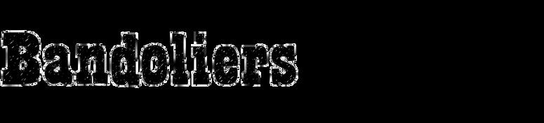 Bandoliers