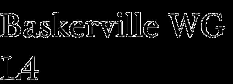 Baskerville WGL4