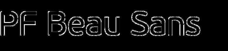 PF Beau Sans