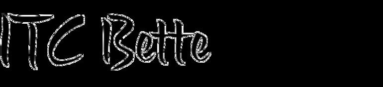 ITC Bette