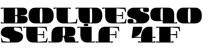 Boldesqo Serif 4F