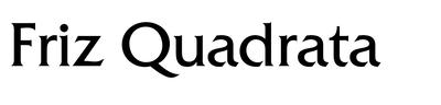 Image of friz quadrata