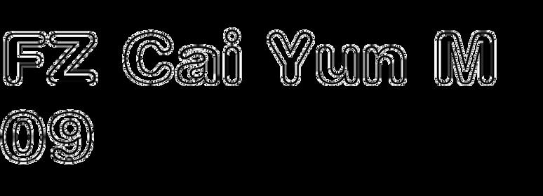 FZ Cai Yun M09