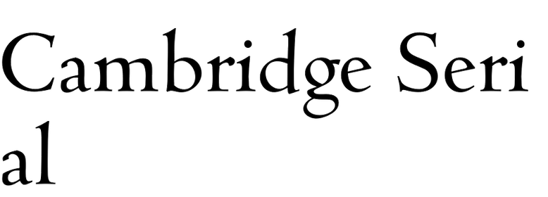 Cambridge Serial
