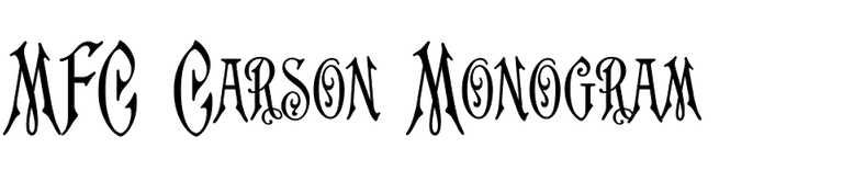 MFC Carson Monogram