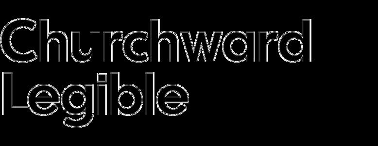 Churchward Legible