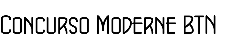Concurso Moderne BTN