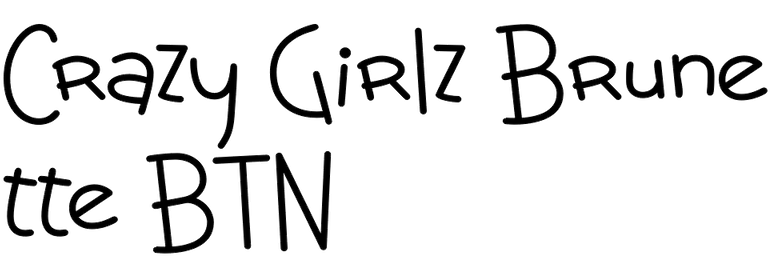 Crazy Girlz Brunette BTN