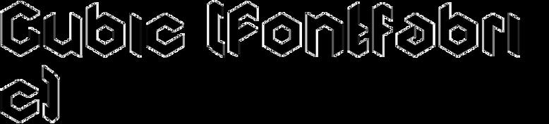 Cubic (Fontfabric)