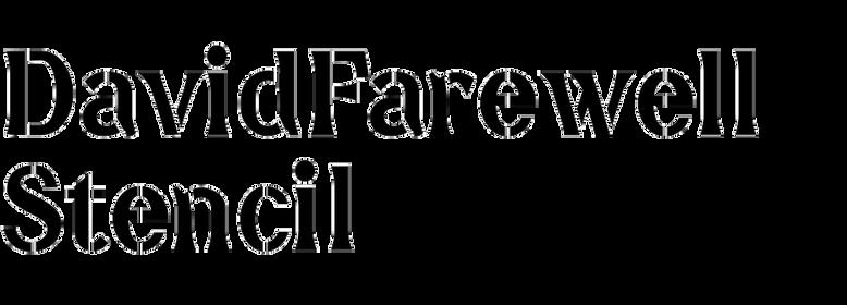 DavidFarewell Stencil