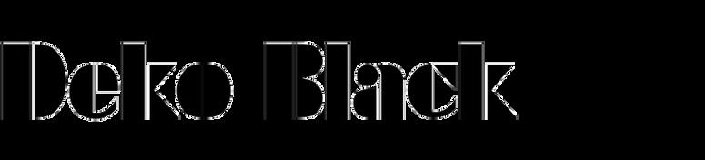Deko Black