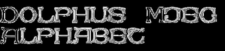 Dolphus-Mieg Alphabet