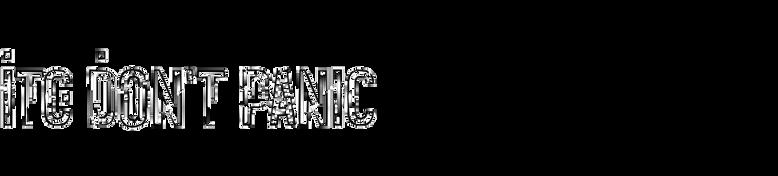 ITC Don't Panic