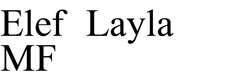 Elef Layla MF