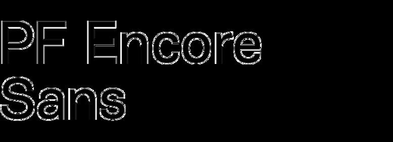 PF Encore Sans