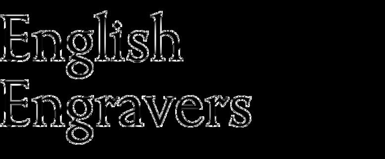 English Engravers Roman