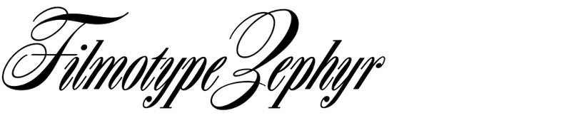 Filmotype Zephyr