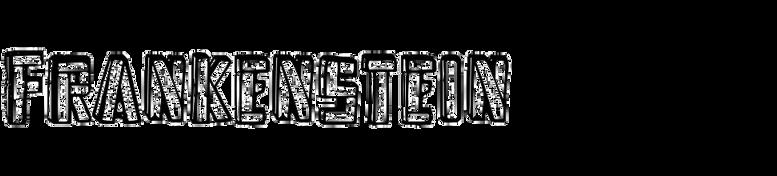 Frankenstein (TypeArt Foundry)