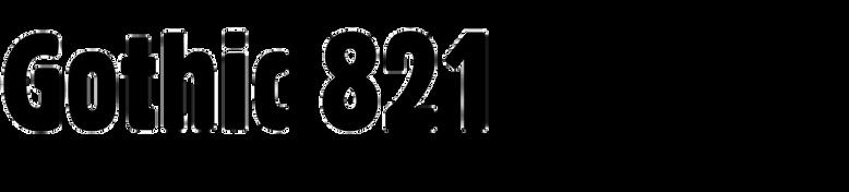 Gothic 821