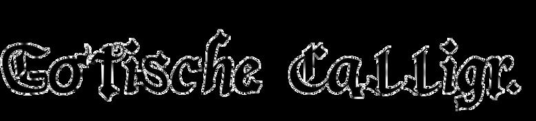 Gotische Calligraphic