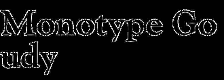 Monotype Goudy
