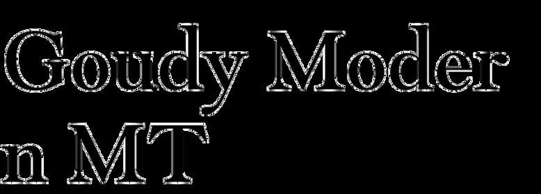 Goudy Modern MT