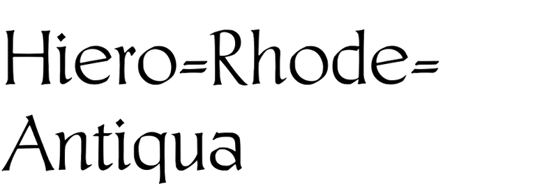 Hiero-Rhode-Antiqua