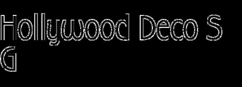 Hollywood Deco SG