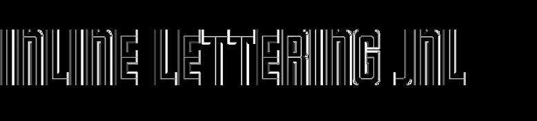 Inline Lettering JNL