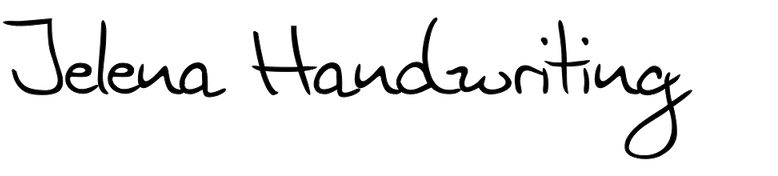 Jelena Handwriting
