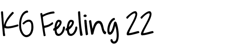 KG Feeling 22
