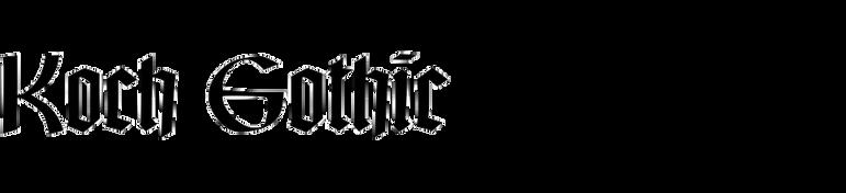 Koch Gothic