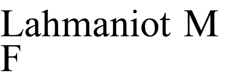 Lahmaniot MF