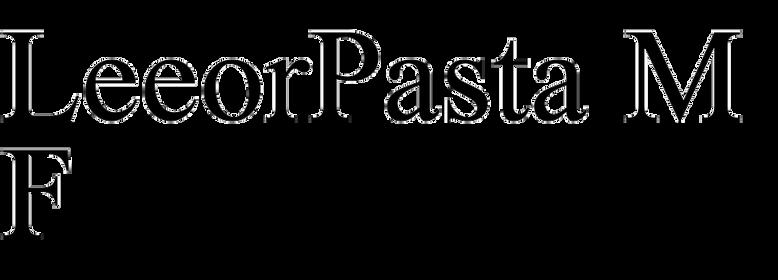 LeeorPasta MF