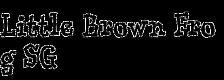 Little Brown Frog SG
