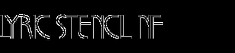 Lyric Stencil NF