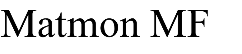 Matmon MF