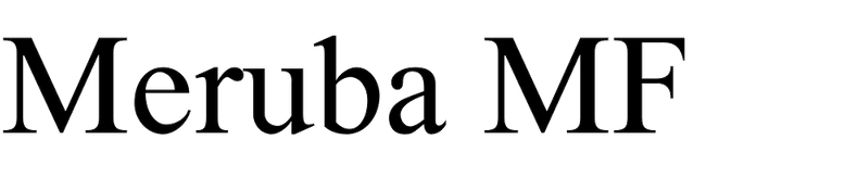 Meruba MF