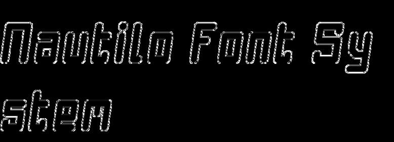 Nautilo Font System