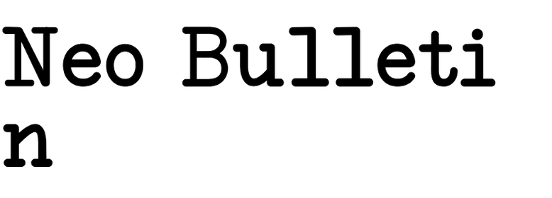 Neo Bulletin