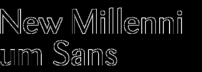 New Millennium Sans