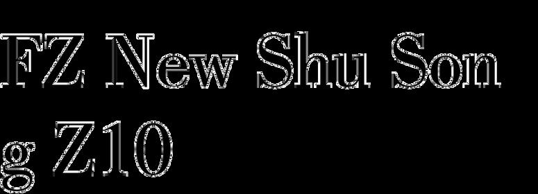 FZ New Shu Song Z10
