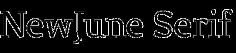 NewJune Serif