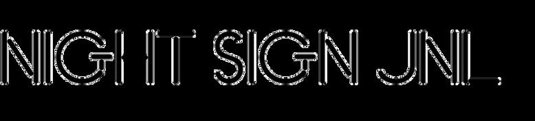 Night Sign JNL