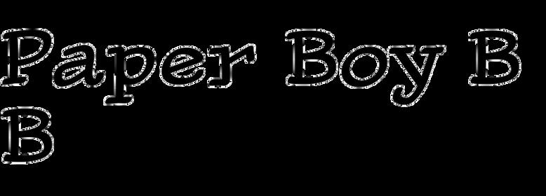 Paper Boy BB
