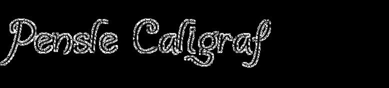Pensle Caligraf