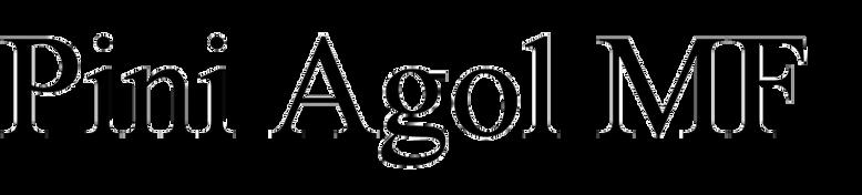 Pini Agol MF